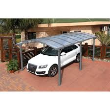 suntuf 5 x 36m grey arcadia carport kit bunnings warehouse