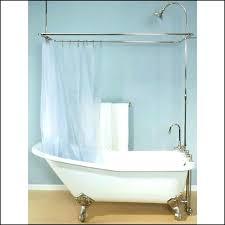 tubs shower enclosures awesome tub shower enclosure about claw tub shower clawfoot tub shower conversion kit