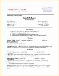 8 Resume Example Without Job Experience Besttemplates
