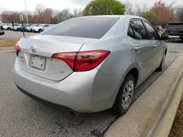 2017 Used Toyota Corolla LE at Toyota of Fayetteville Serving NWA ...