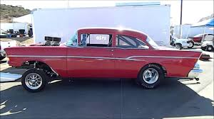 1957 chevrolet Bel Air Gasser - YouTube