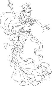 Disegni Di Sirene E Sirenette Da Stampare E Colorare Portale
