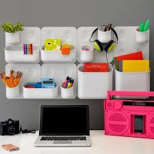 Work office decorating ideas luxury white Ikea Dontweightus Cubicle Decorations In Minimalist Style