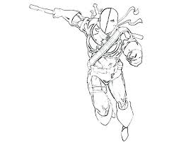 Deadpool Coloring Pages Easy For Boys Dead Pool Vs 467 Super