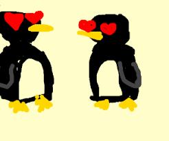cute penguins in love drawings. Brilliant Love Two Cute Penguins In Love U003c3 Inside Cute Penguins In Love Drawings Y