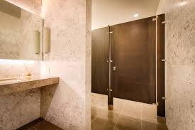 Ironwood Manufacturing Wood Veneer Toilet Partition And Door With - Bathroom toilet partitions