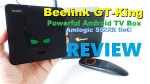 <b>Beelink GT</b>-<b>King</b> Review: Powerful TV Box powered by new S922X ...