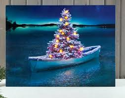 led canvas wall art radiance lighted canvas wall art tree in row boat picture whole flickering led canvas wall art