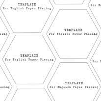 Mini Hexagons 1 1/4 inch Templates - Download - Alice Caroline ... & Mini Hexagons ... Adamdwight.com