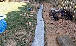 how to install a french drain the
