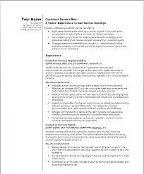 Job Descriptions For Resume Call Center Job Descriptions Customer