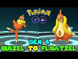Pokemon Weasel Evolution Chart Evolve Buizel Pokemon Go