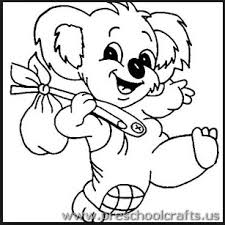 Small Picture free printable koala coloring pages for kindergarten Preschool