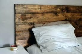 diy wooden headboard with lights build a rustic headboard how to build rustic headboard natural wood