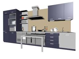 Kitchen Design 3d Model Free Download