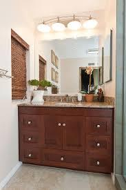strasser woodenworks bathroom eclectic with dark wood cabinet eclectic design kichler light