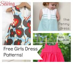 Dress Patterns For Toddlers Mesmerizing Free Sewing Patterns Girls Summer Dresses