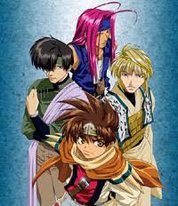 Risultati immagini per saiyuki anime