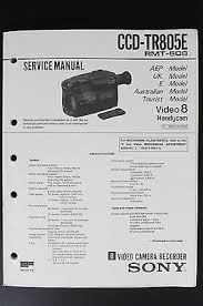 sony ccd tr805e rmt 508 original video 8 handycam service manual sony ccd tr805e rmt 508 original video 8 handycam service manual wiring