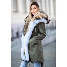 <b>CKMORLS New</b> Fashion Luxury Parkas With Real Fur Collar Thick ...
