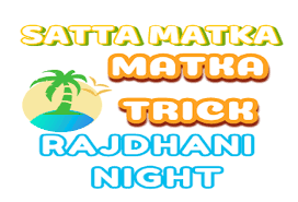 Rajdhani Night Today Penal Chart Matka Trick Satta Matka