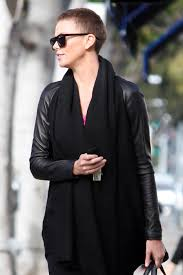 Charlize Theron Short Hair Style charlize theron maintains her pixie cut with a trip to the salon 8534 by wearticles.com