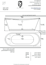 freestanding tub sizes photo 2 of bathtubs idea standard