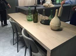 pull out bar height table