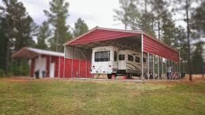 24x41x10 vertical roof metal carport