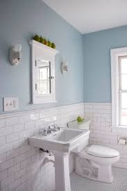 bathroom subway tile. Beadboard And Subway Tile Bathroom I