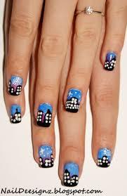 The 25+ best Firework nails ideas on Pinterest | Firework nail art ...