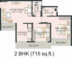 image of 1 bedroom house plan size