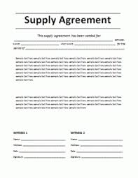 Supply agreement is an agreement between a purchaser and supplier dictating the terms and conditions pertaining to supply of goods. Supply Agreement Template Word Excel Pdf Templates Contract Template Templates Printable Free Agreement