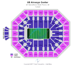Talking Stick Seating Chart Us Airways Center Seating Chart Rows Just For Me Products