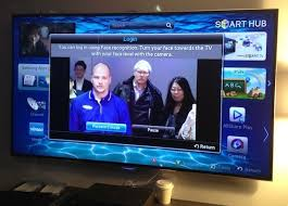 samsung tv camera. facial recognition on the es8000 can be used to log in your account. samsung tv camera e