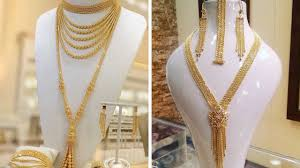 Dubai Gold Jewellery Designs Photos Simple And Elegant Dubai Gold Souk Jewellery Designs
