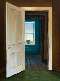 open door painting. Realistic Painting Of An Open Door By Artist Michelle Basic Hendry Z