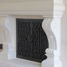 fireplace doors wrought iron. We Offer Top Quality Wrought Iron Doors To Add An Elegant Touch Your Fireplace And Enhance The Look Of Home. If You Live In Thousand Oaks Area R