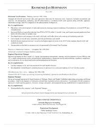 Construction Operation Manager Resume Operations Manager Resume Template Automotoread Info