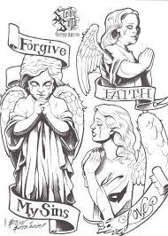 плачущие ангелочки