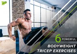 6 powerful bodyweight tricep exercises 5 will make you scream fitnesspurity