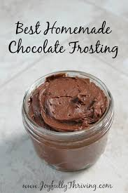 The Best Homemade Chocolate Frosting Youll Ever Taste