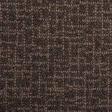 floor runner rug choco brown tufted pile