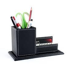desk waterford desk set pen holder desk pen holder with clock wood structure leather desk