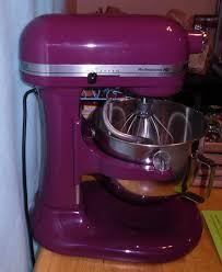 boysenberry kitchenaid professional hd bowl lift mixer