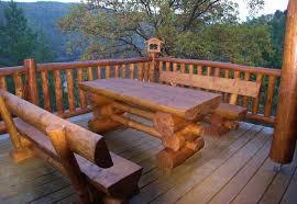 log furniture ideas. Outdoor Log Furniture Ideas R