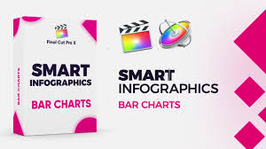 Smart Infographics Bar Charts Final Cut Pro Templates