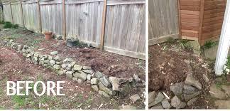 Small Rock Retaining Wall Ideas