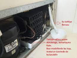 Buz Dolabı Alt Bölümü Soğutmuyor Buzdolabı alt katı soğutmuyor BuzDolabı su  damlatıyo