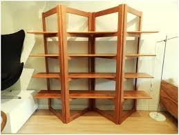 um image for diy zig zag shelves folding teak bookshelf with brass zig zag bookshelf diy